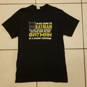 Batman T-Shirt Ladies Medium
